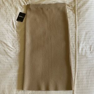 BNWT Forever 21 Ribbed Bodycon Pencil Skirt